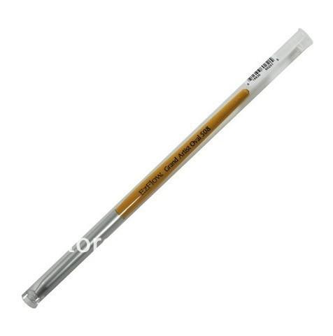 Ezflow Nail Grand Artist Oval 508 Acrylic Brush with brush Cover(China (Mainland))