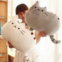 40*30cm 2016 Plush Toys Stuffed Animal Doll Talking Animal toy Pusheen Cat For Girl Kid Kawaii Cute Cushion Brinquedos(China (Mainland))