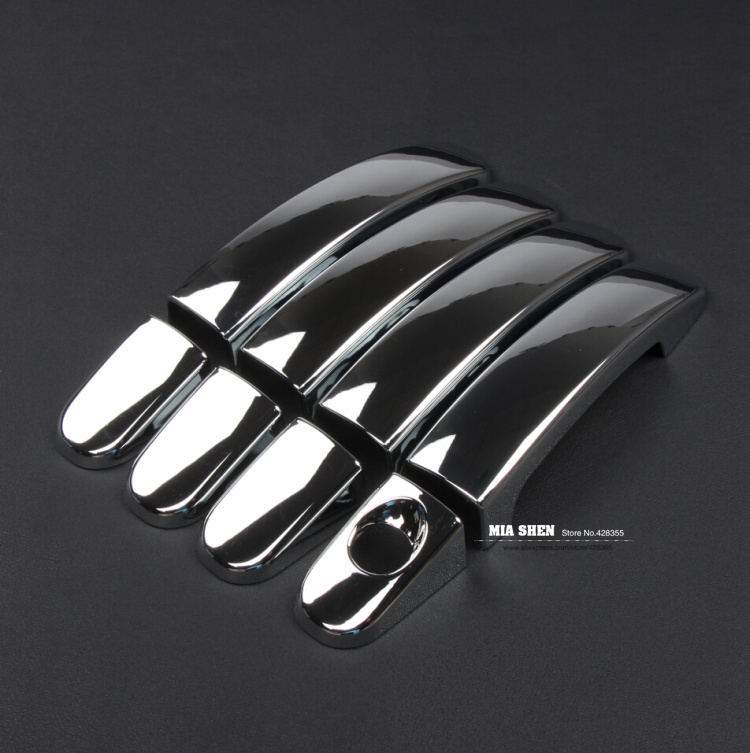 ABS Chrome trim Door Handle Covers for Ford focus 2 / focus 3 2005-2011 2012 2013 ,auto accessories(China (Mainland))