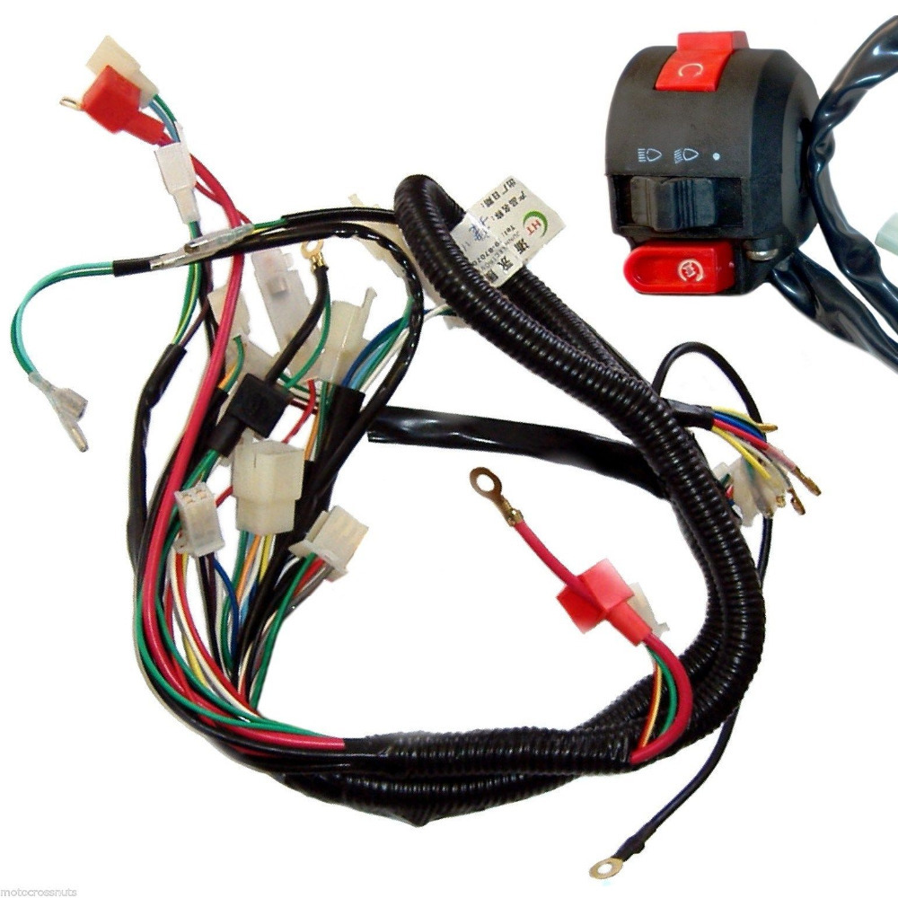Lifan Wiring Harness The Portal And Forum Of Diagram Motor Pit Bike 110cc 125cc Loncin Zongshen Ssr 200