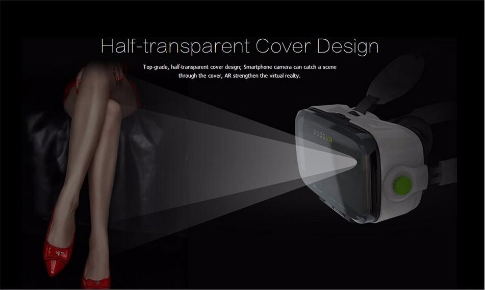 ถูก ความจริงเสมือนแว่นตา3dเดิมbobo z4 vrมินิgoogleกระดาษแข็งvr box 2.0สำหรับ4.0-6.0นิ้วมาร์ทโฟนหูฟัง