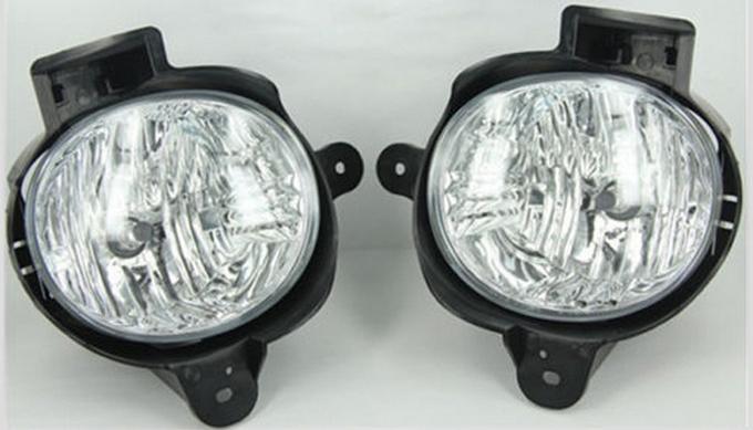 Фотография Car Frout Fog Lights Fit  Toyota Hilux Vigo 2012 With H11 55w  Halogen bulbs Strobe Line Group 12v styling