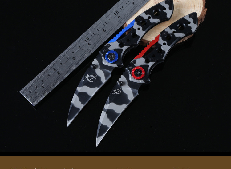 Buy Mantis Folding Knife Pocket Knife Folding Fruit Knife Steel Handle Survival Hunting Camping Tactical Knives Outdoor Tools T cheap