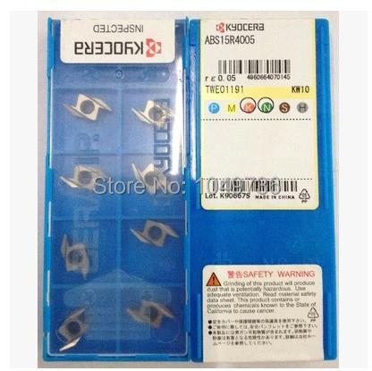 Инструмент для обработки деталей вращения ABS15R4005 KW10 100% KYOCERA инструмент для обработки деталей вращения mcmnn2020k12 100 cnc 20 20 125 mcmnn2020k12 100