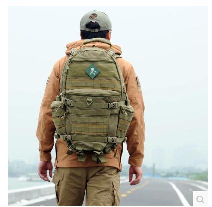 THUNDER TAD-III tactical backpacks hiking outdoor camping bag military army training backpack 1000D nylon YKK zipper(China (Mainland))