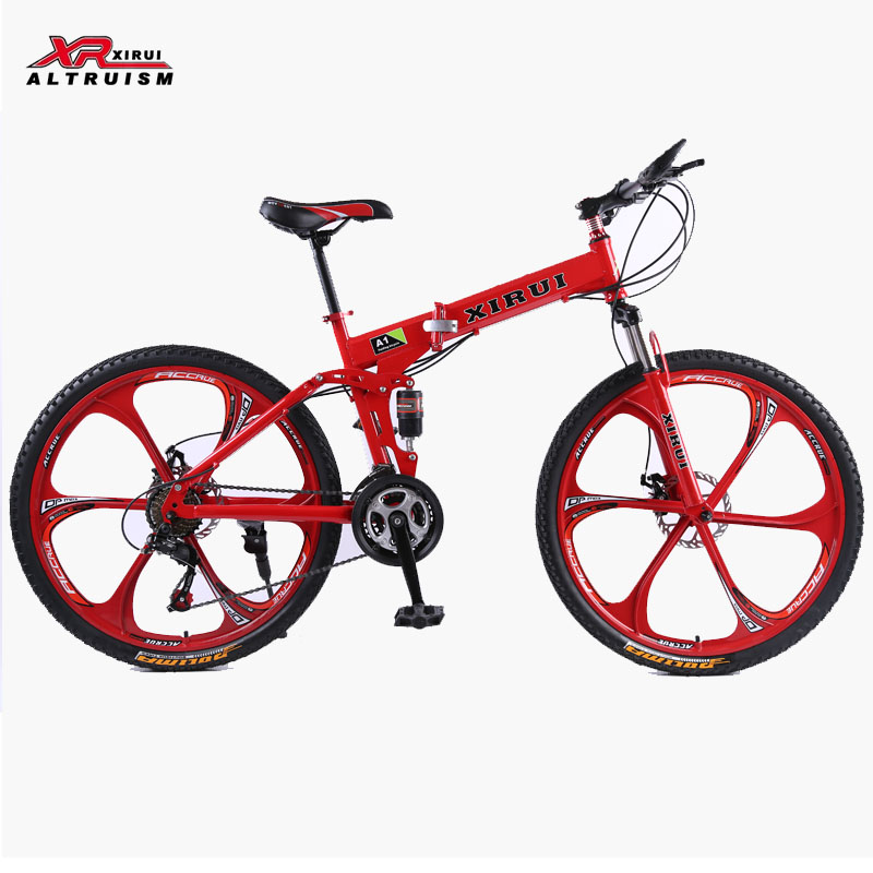 21 Speed mountain bike complete A1 folding bicycle 26inch black supplier bikes Magnesium alloy wheels road bikes for 160-185cm(China (Mainland))