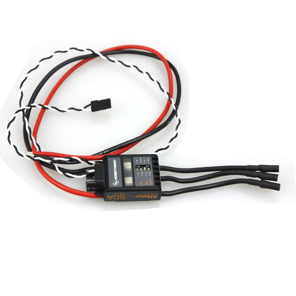 2 Pcs XRotor Pro 50A 4-6S Brushless speed controller ESC Multi-Rotor Aircaft For RC Drone Heli Aircraft F17551