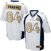 ABC100% Elite men Denver Broncos WOMEN KIDS YOUTH FREE SHIPPING 84 Shannon Sharpe(China (Mainland))