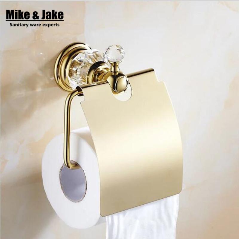 Luxury Gold crystal Toilet Paper Holder paper Roll Holder Tissue  Holder Bathroom AccessoriesPopular Crystal Toilet Buy Cheap Crystal Toilet lots from China  . 24k Gold Toilet Paper. Home Design Ideas