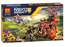 HOT BELA 10489 14005 Nexo Knights Jestro Evil Mobile Combination Marvel Building Blocks Kits Toys Compatible Nexus - runda Toy stores store