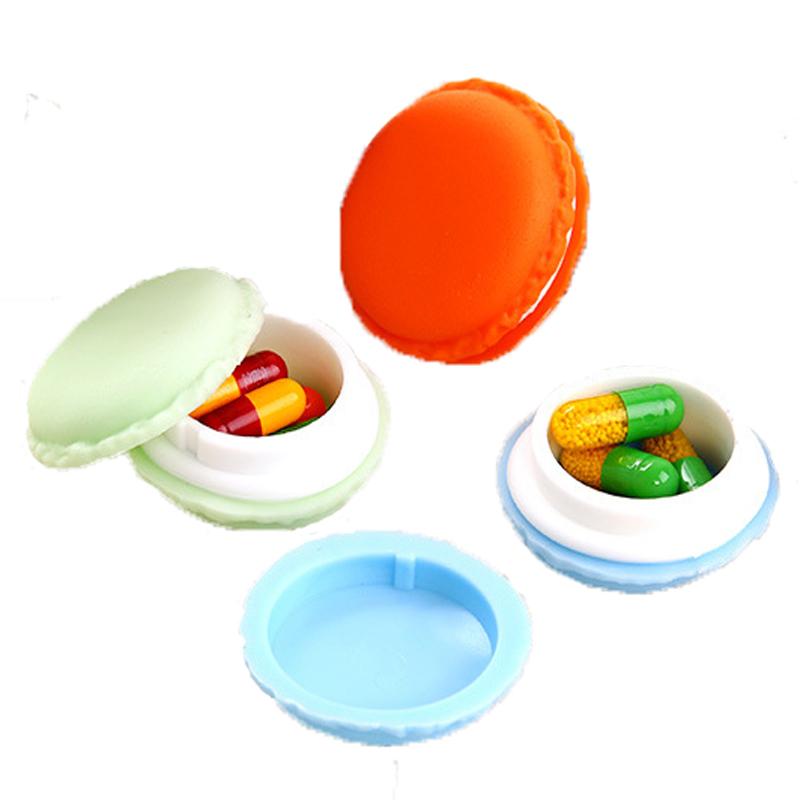 2PCS Plastic Medical Medicine Drug Storage Box Jewelry Beads Organizer Mini Pill Box Splitters Cases Medicine Box Health Care(China (Mainland))