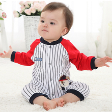 Romper baby rompers newborn baby clothes boy clothing jumpsuit newborn costume girl infant clothing 2016