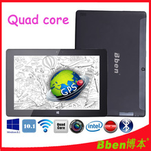 Free shipping !10.1 inch 3G tablet pc windows 8.1 tablet pc intel Z3735D G-sensor tablet pc quad core GPS tablet pc