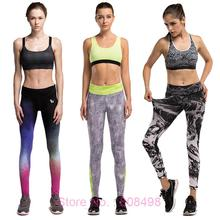 Women Compression Pants Elastic Wicking Exercise Sports Female Fitness Exercise Running Jogging Jogger Trousers Gym Slim pants(China (Mainland))