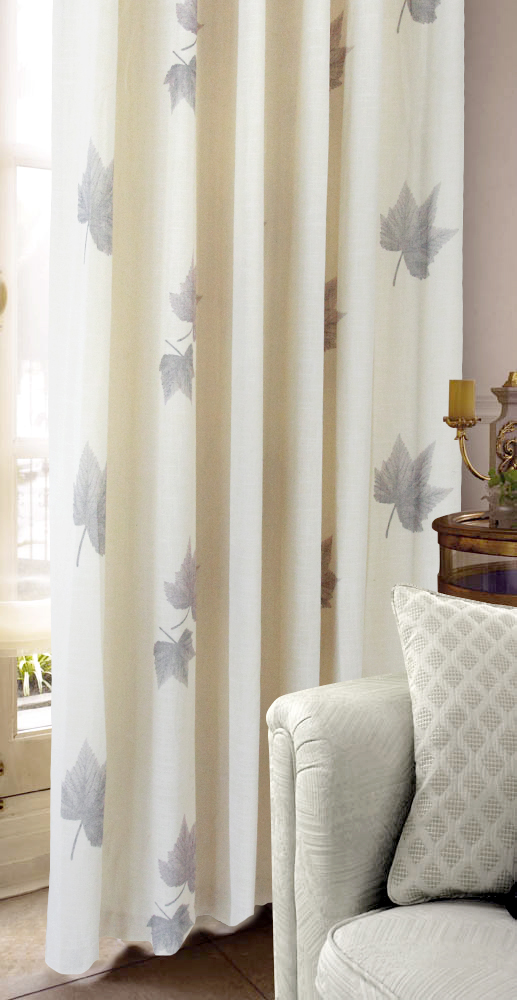 curtain living room curtain fresh beige rustic finished