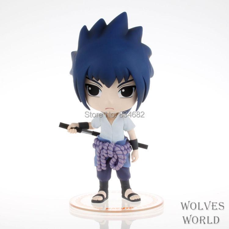 J.G Chen New Arrival Popular Japanese Anime Naruto Uchiha Sasuke 20CM High Quality PVC Figure Toys Q Cute Kawaii Version<br><br>Aliexpress
