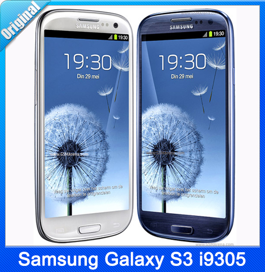 Original Unlocked Samsung Galaxy S3 i9305 Android 4.1 3G& 4G Network GSM 4.8 Inch 8MP Camera GPS WIFI Smartphone Free Shipping(China (Mainland))