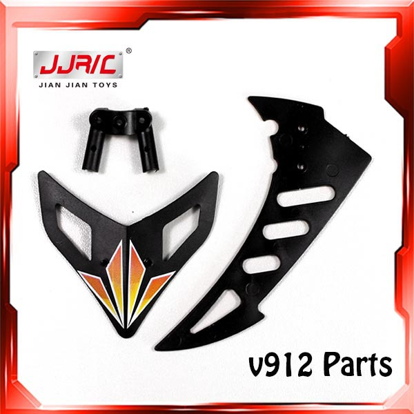 Free shipping WL V912 Helicopter Parts V912 Tail Decoration V912-27 Parts v912 helicopter Spare Parts V912 4 CH RC Helicopter(China (Mainland))