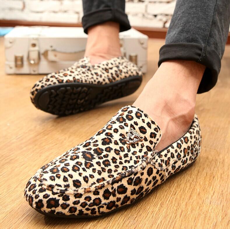 S Leopard Print Shoe