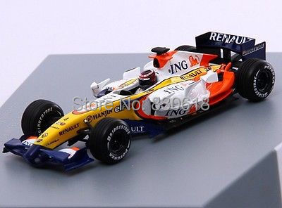 NOREV 1:43 - ING RENAULT F1 TEAM - R27 - 2007 Die-cast metal model car(China (Mainland))