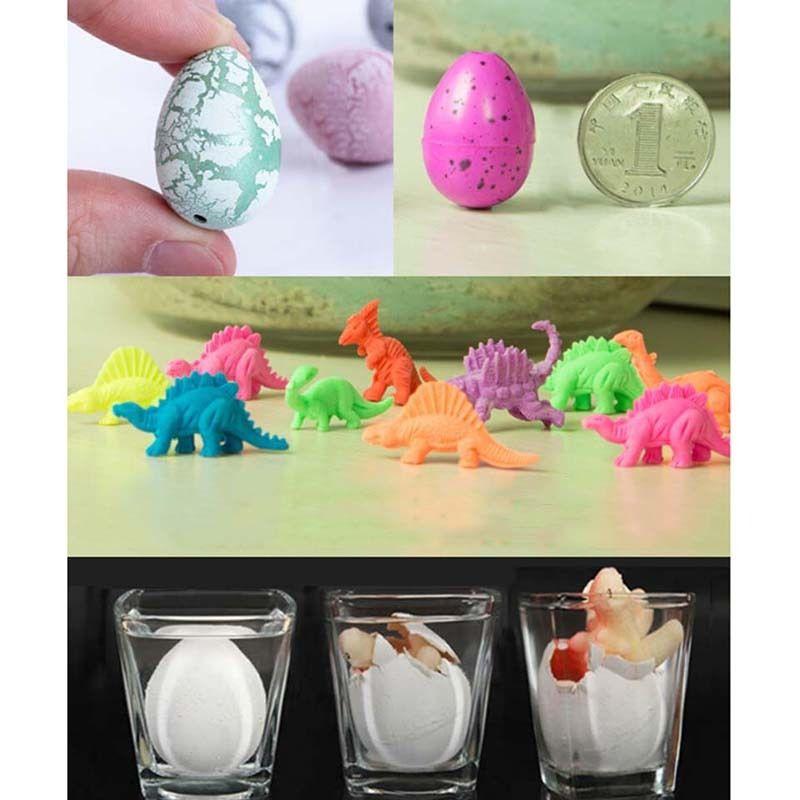 Hatching Growing Dinosaur Dino Eggs Add Water Magic Cute Children Kids Toy RS