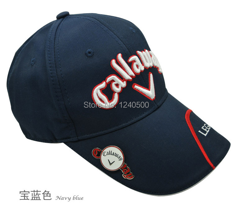 free shipping ,wholsale CA blue waterproof golf hat , accessories, fashion cap. golf visors(China (Mainland))
