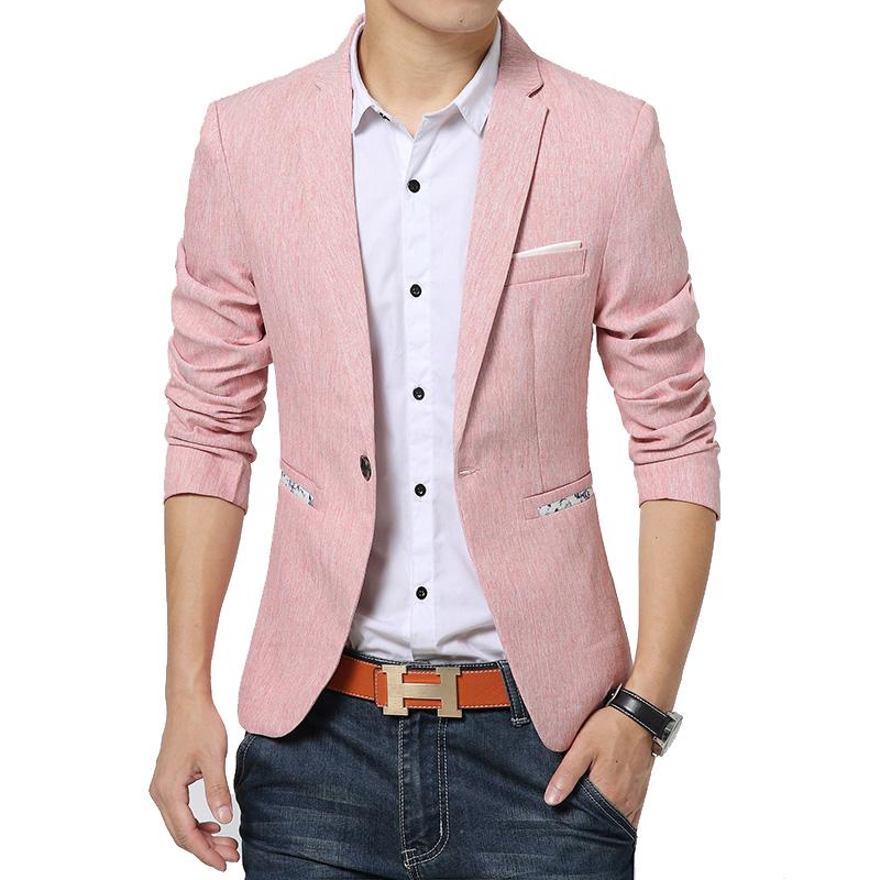 Mens Fashion Casual Slim Blazer | Male Models Picture