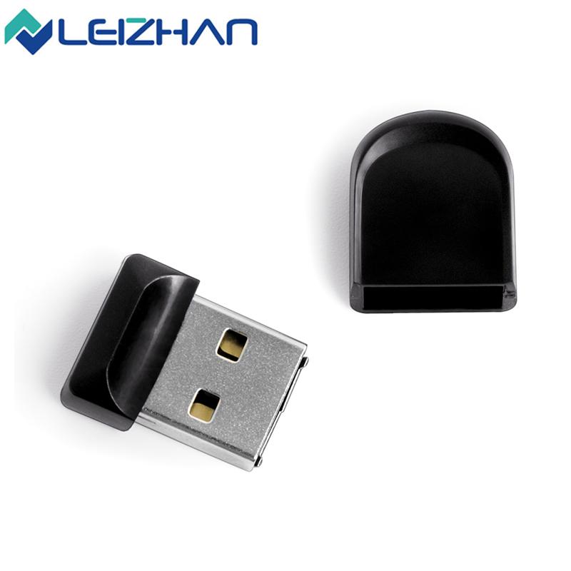 LEIZHAN Mini USB Flash Drive Pen Drive Pendrive 4G 8G 16G 32G USB 2.0 Black Little Flash Minions Memory Cards USB Stick(China (Mainland))