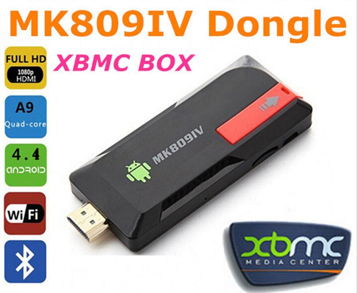 HD MK809IV Android 4.4 Player HDMI TV Stick TV Dongle Amlogic RK3188T Quad-Core 2GB/8GB Mini PC Bluetooth XBMC Miracast/DLNA(China (Mainland))
