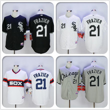 2016 mens Chicagos #21 Todd Frazier baseball jersey 100% stitched jersey black white gray(China (Mainland))