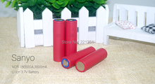 2pcs. 2015 new original 18650 Sanyo NCR18650GA 3500 mAh rechargeable lithium battery 10A continuous discharge battery