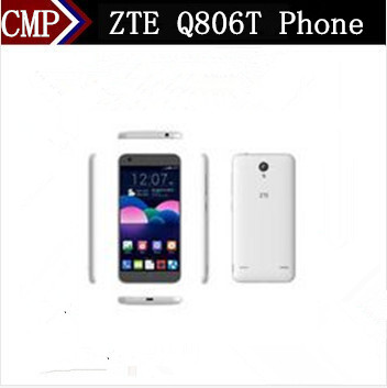 "Original ZTE Q806T 4G LTE Mobile Phone MTK6735 Quad Core Android 5.0 5.0"" IPS 1280X720 1GB RAM 8GB ROM 13.0MP OTG Dual Sim(China (Mainland))"