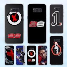Buy jorge lorenzo lorenzo 99 Logo red X design hard transparent Case Samsung Galaxy S8 S6 S7 edge S8 Plus s5 note 5 4 for $1.94 in AliExpress store