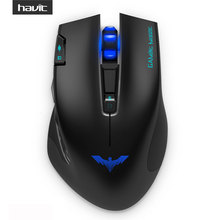 HAVIT 2.4G Wireless Gaming Mouse with 2400DPI 7 Button USB Receiver For PC Laptop Desktop mouse sem fio Gamer Mause HV-MS978GT(China (Mainland))