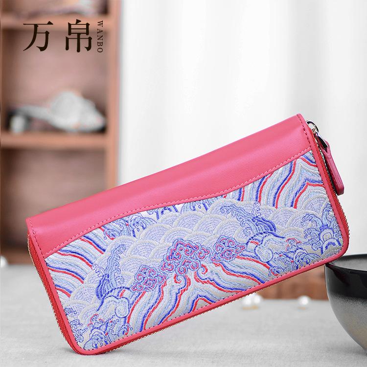 Aliexpress.com : Buy 2015 new fashion women wallet brocade 100 ...