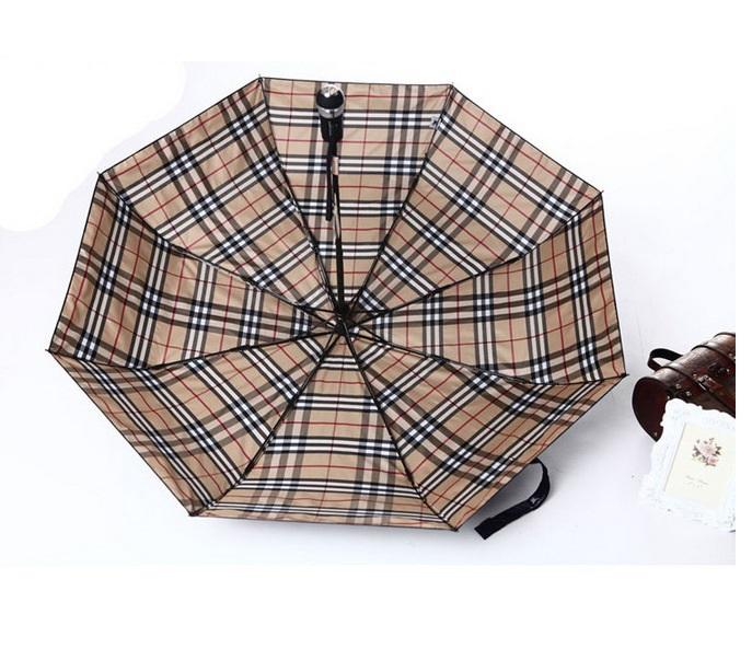 2015 New Flashlight Umbrella Three Folding Guarda Chuva Fully-automatic UV Umbrella Creative Gift Paraguas Free Shipping 04(China (Mainland))