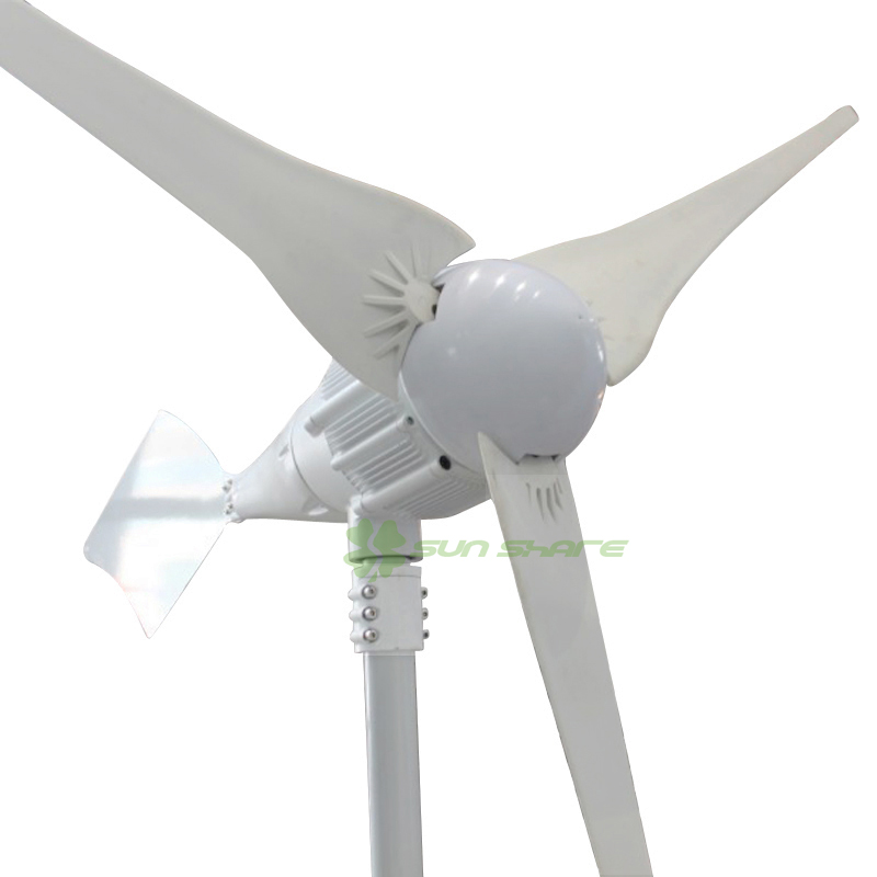 Free shipping SMALL 1000W wind generator 48v /24v large output delivery from factory suitable using on boat /sailling /home(China (Mainland))
