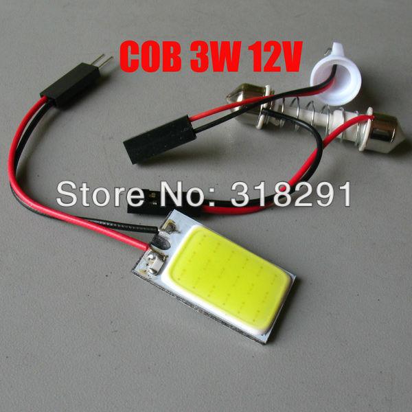 100pcs/lot free shipping White 18 smd  COB Chip LED 18 led Car Interior Light T10 Festoon Adapter 12V,Car Vehicle LED Panel lamp