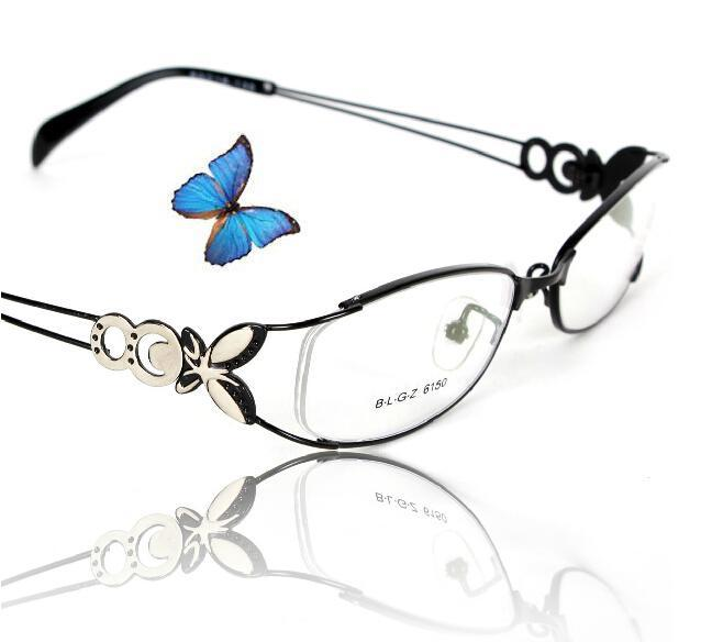 High Quality Super-light Fashion Women Butterfly Eyeglasses Prescription Recipe RX Gasses Optical Frames oculos de grau gafas(China (Mainland))