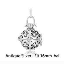 1pc Hollow Cage Filigree Ball กล่อง Diffuser สร้อยคอ Locket จี้สำหรับ DIY น้ำหอมน้ำมันหอมระเหยผลการค้นหา(China)
