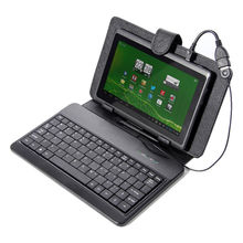 BSBL 4GB 7″ Android 4.0 Multi-touch Tablet PC bundle Black Leather Case USB Keyboard