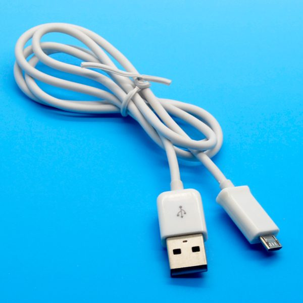10PCS Free Shipping New Micro USB Sync Data Charger Charging Cable Cord For Samsung HTC White(China (Mainland))