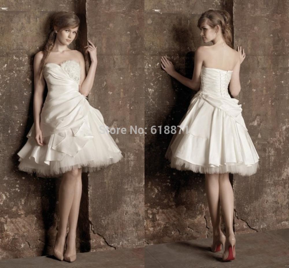 Short mini wedding dresses wedding dresses in jax for Short mini wedding dresses