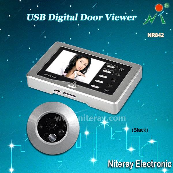 Motion Detect Digital Door Peephole Viewer Camera
