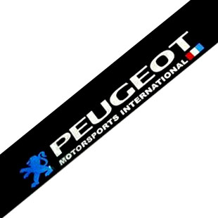 Peugeot front 206 207 refires rise 307 308 405 508 reflective peugeot front stop stickers decoration(China (Mainland))