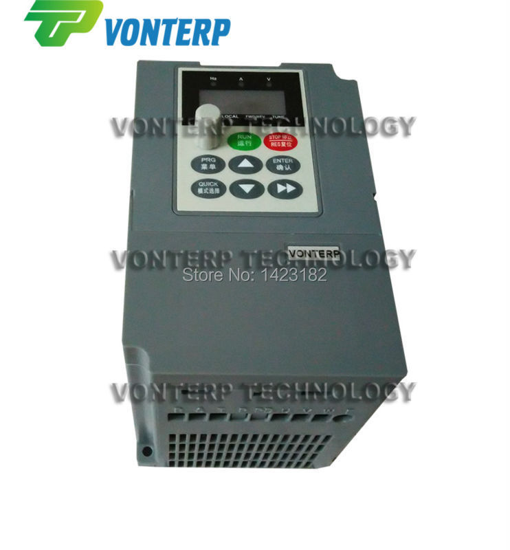 220v 2.2kw 10A single phase input and 220v 3 phase output ac drive/frequency inverter/converter/VFD/VSD(China (Mainland))