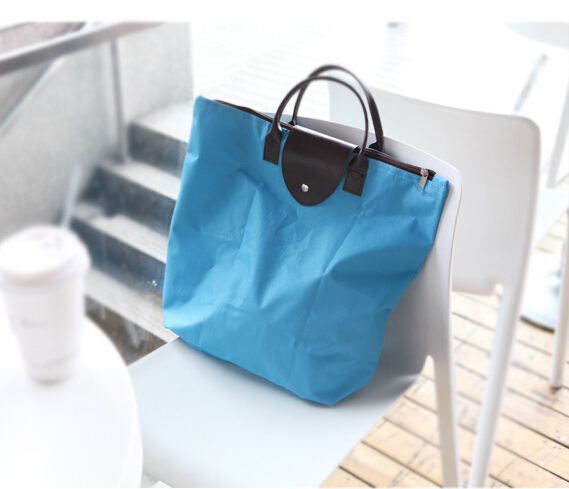 new fashion Women shoulder bags WaterProof folded women messenger bags travel tote school folding handbags(China (Mainland))