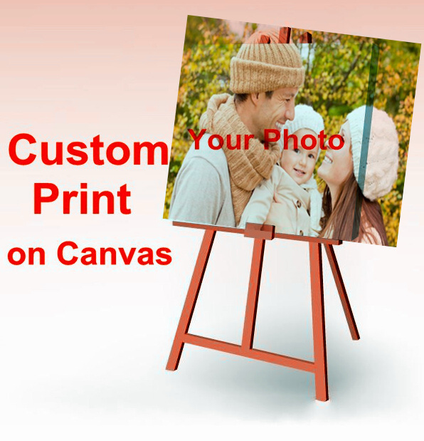 Canvas Painting Your Picture Family friends or Baby Photo Favorite Image Custom Print on Canvas Painting Home Decorate(China (Mainland))