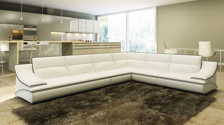 ... Modern All White Sofa Living Room Sofa Set Modern Leather Sofa Foshan  ... Part 72