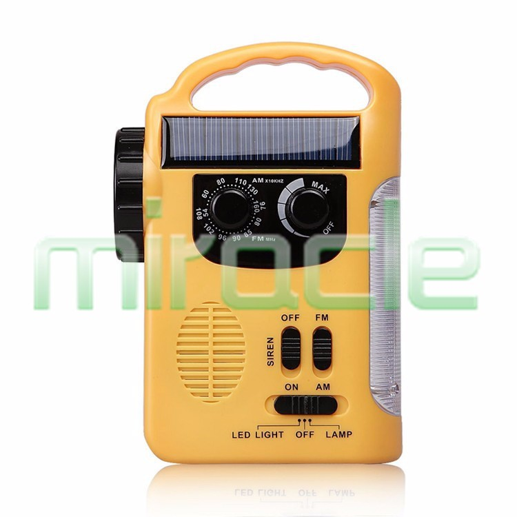original Receptor Fm Radio free Shipping Rd-339t Crank Dynamo Multifunctional Handy with Led Flashlight And Mobile Phone Charger